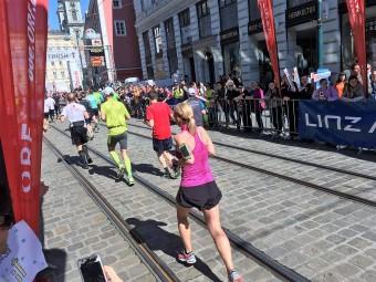 Erfolge beim Linz Marathon