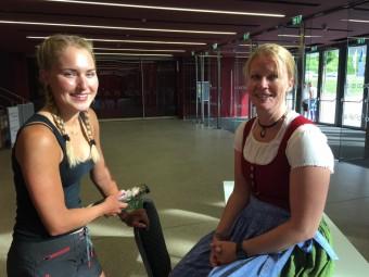 Meeting mit Johanna Erhart
