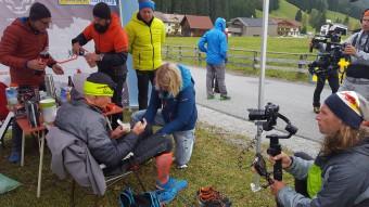 Dreharbeiten für Servus TV