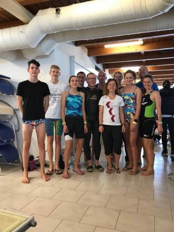 """""""24 Stunden Schwimmen"""" mit sportplusmedizin"""