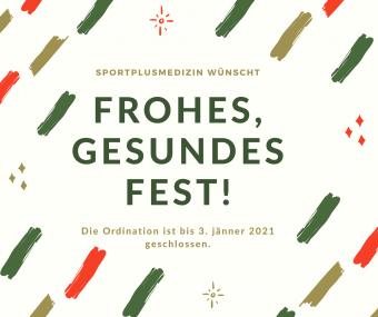 FROHE WEIHNACHTEN & ALLES GUTE 2021