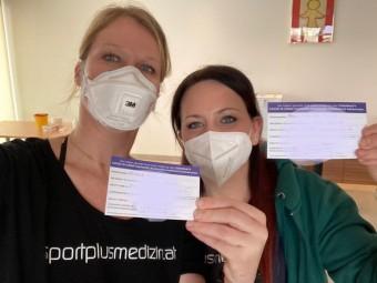 Geimpft, um sicher impfen zu können